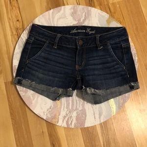 Like New American Eagle Stretch Jean Shorts
